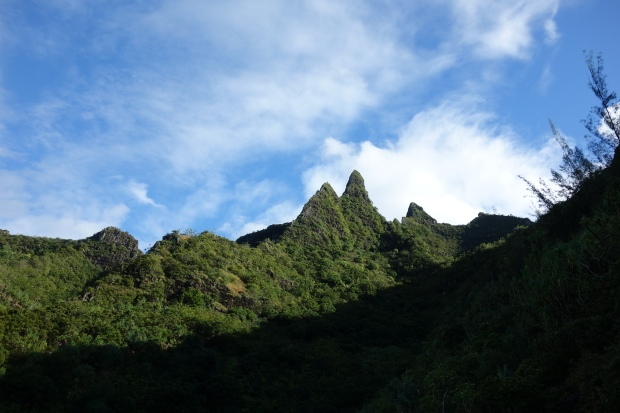 Mountain views from the Kalalau Trail