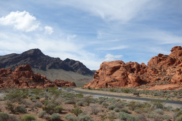 Wide-open vistas in the Valley of Fire