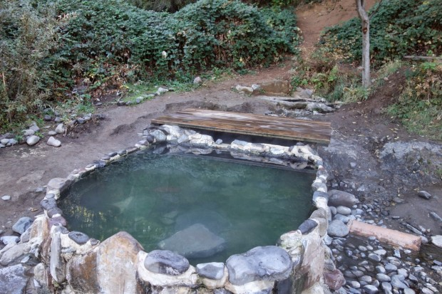 Hunt Hot Spring - Upper Pool