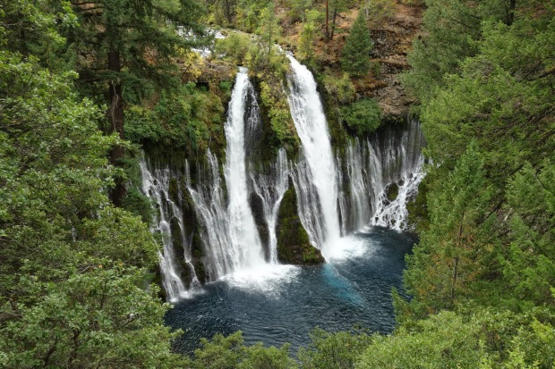 129 foot Burney Falls